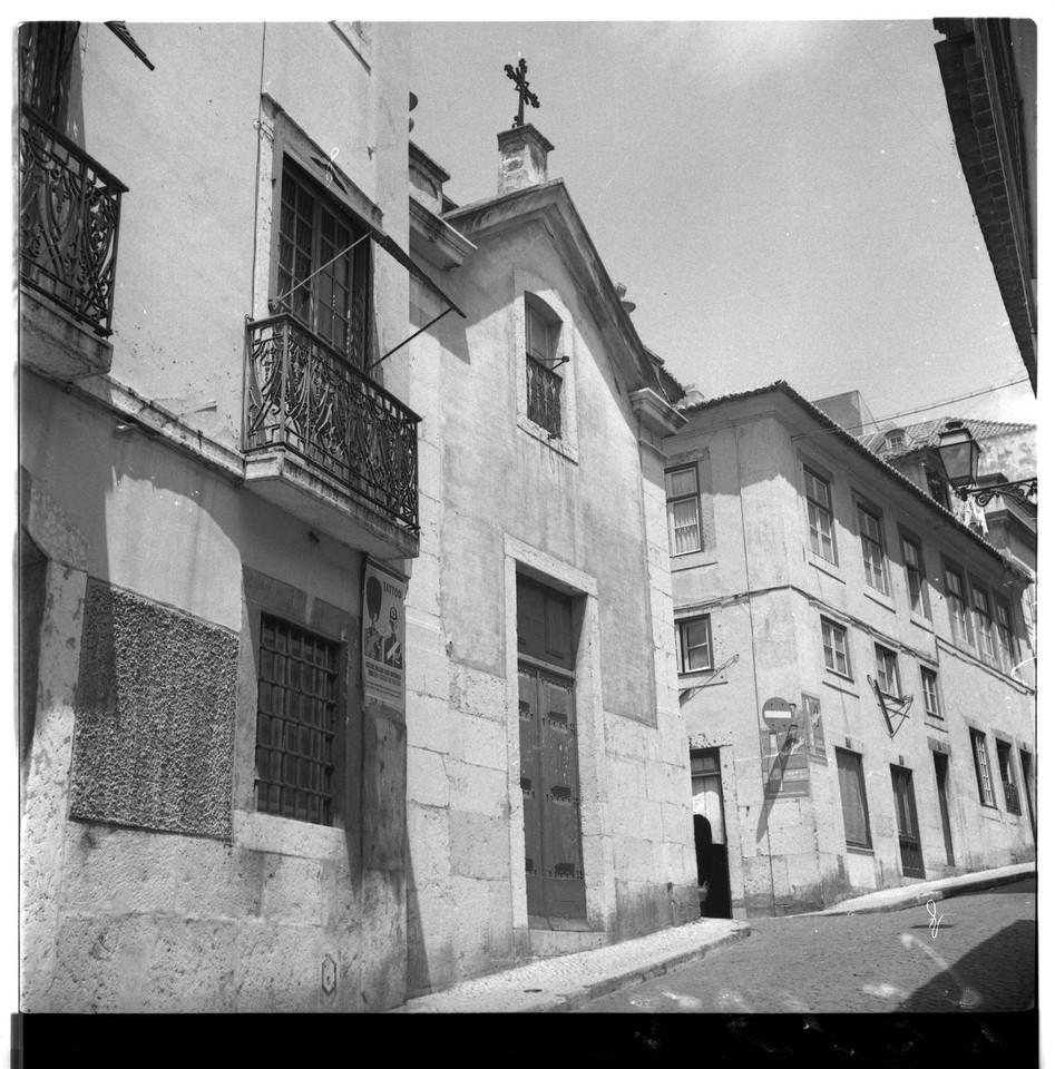 Ermida dos Fiéis de Deus, 1959, foto de Fernando