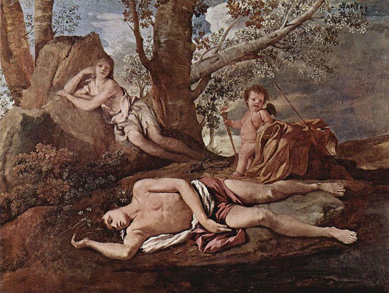 Eco e Narciso (Nicolau Poussin, 1630)