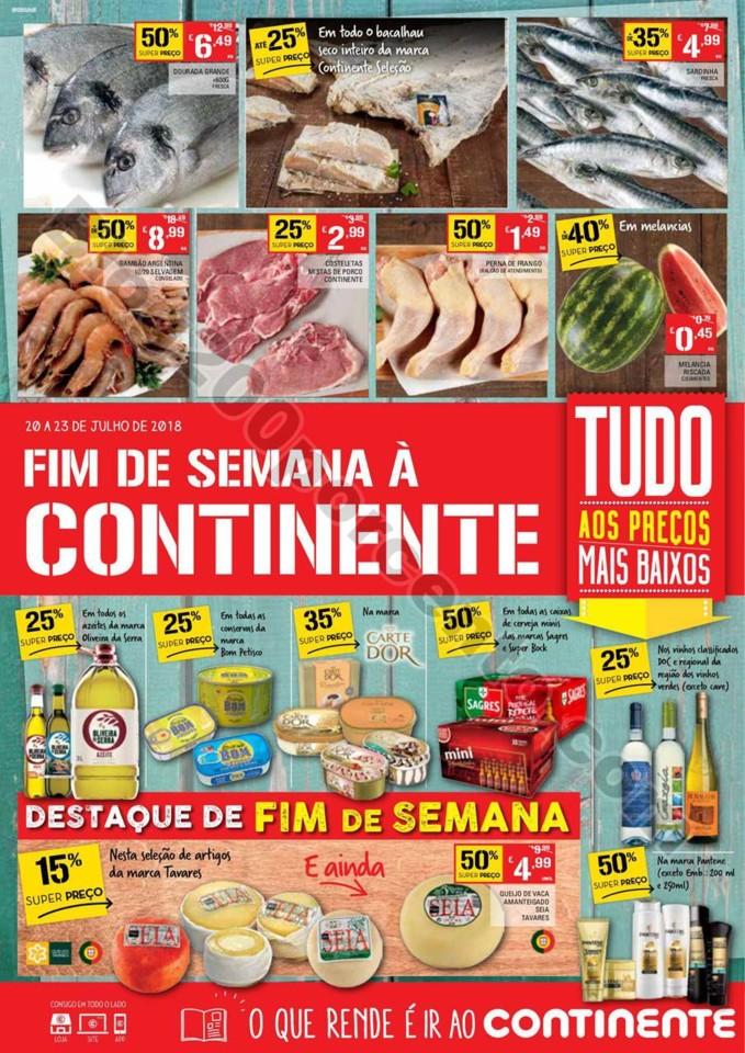 Antevisão Folheto CONTINENTE Fim de semana 20 a 2