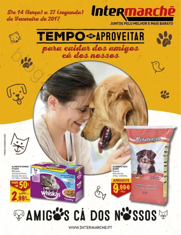 Antevisão Folheto INTERMARCHÉ Pets promoções d