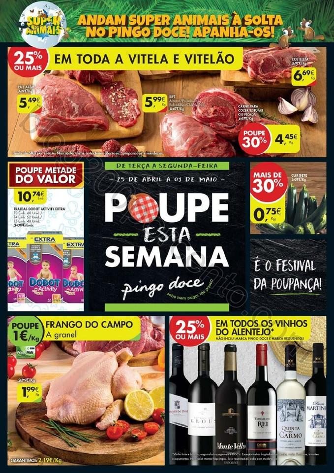 Antevisão Folheto PINGO DOCE Promoções de 25 ab