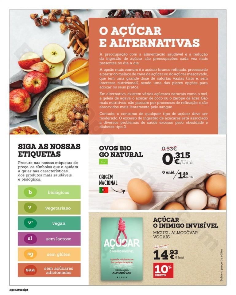 Antevisão Folheto GO NATURAL Promoções de 12 a
