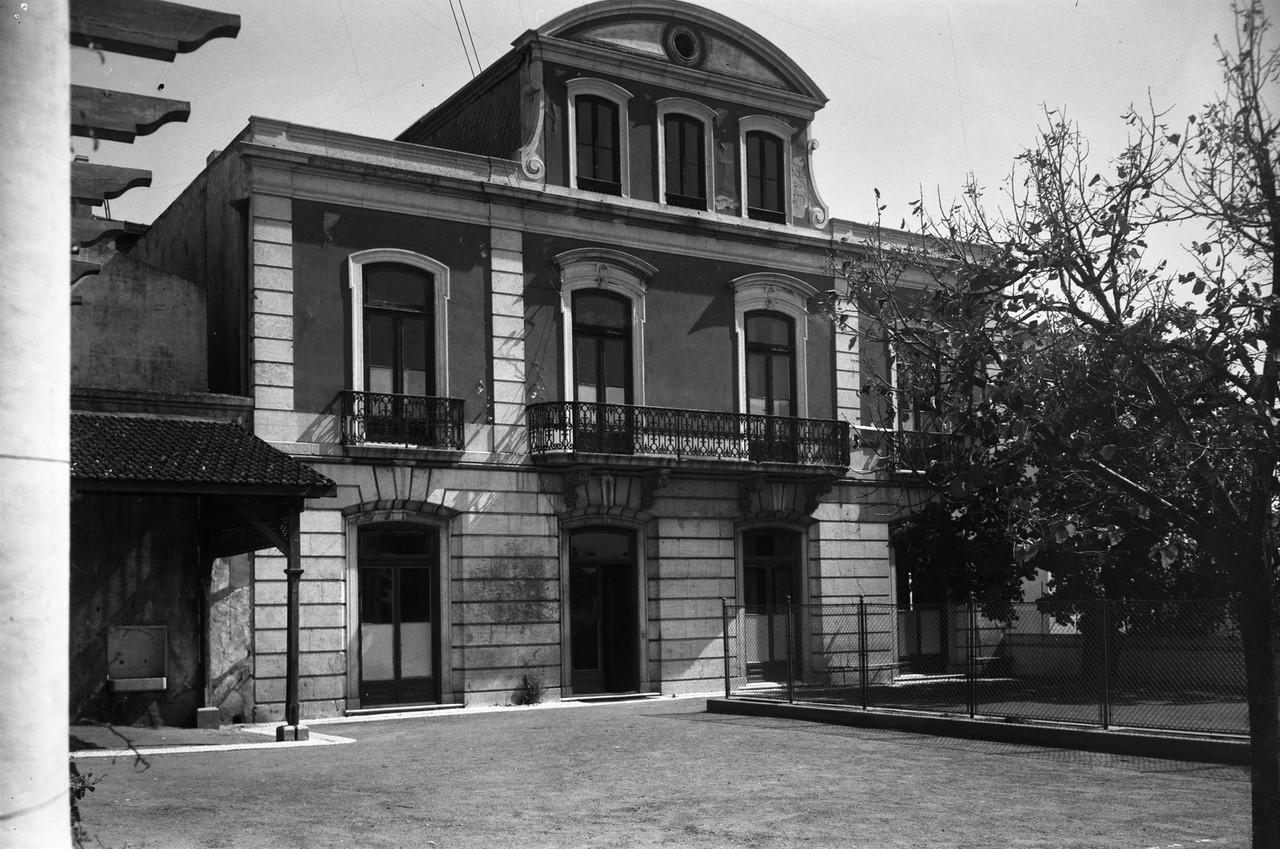 Palacete Braamcamp, 1943, foto de Eduardo Portugal