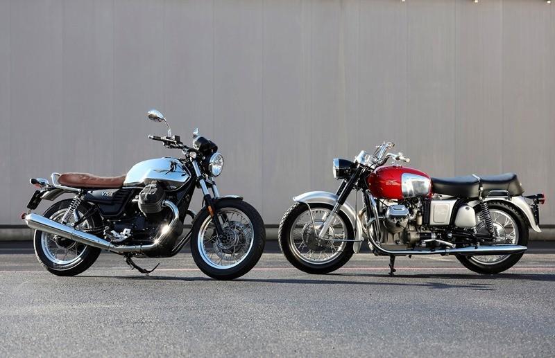 07 Moto Guzzi V7 III Anniverario e V7 700 1967 Like A Man.jpg