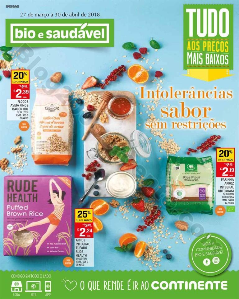 Antevisão Folheto CONTINENTE Bio promoções de 2