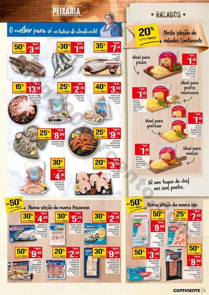 Antevisão Folheto CONTINENTE Promoções de 5 a 1
