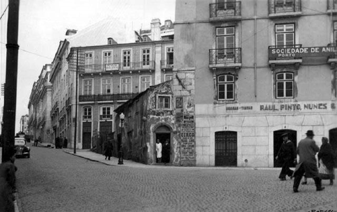 Rua da Madalena, Janeiro 1941, foto do espólio de