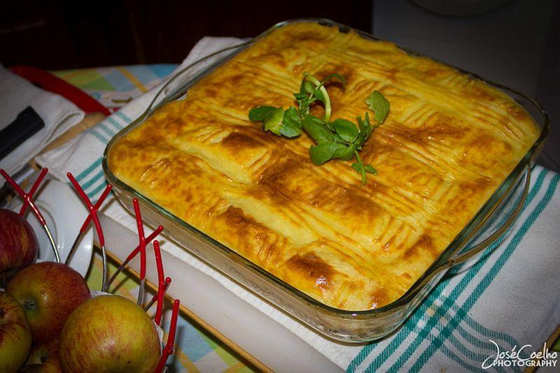 empadão de soja receita vegetariana prato cozinha culinária