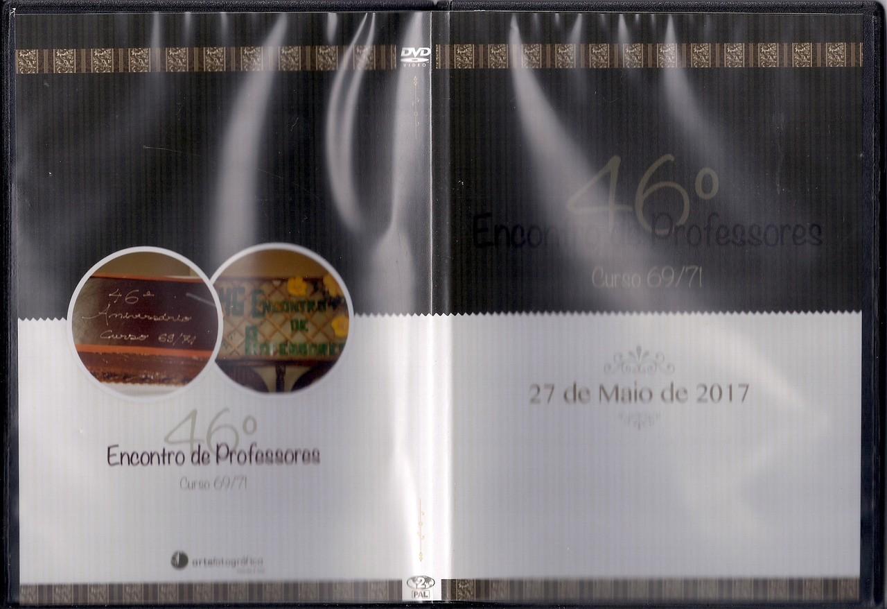 Capa do dvd do 46.º aniversário