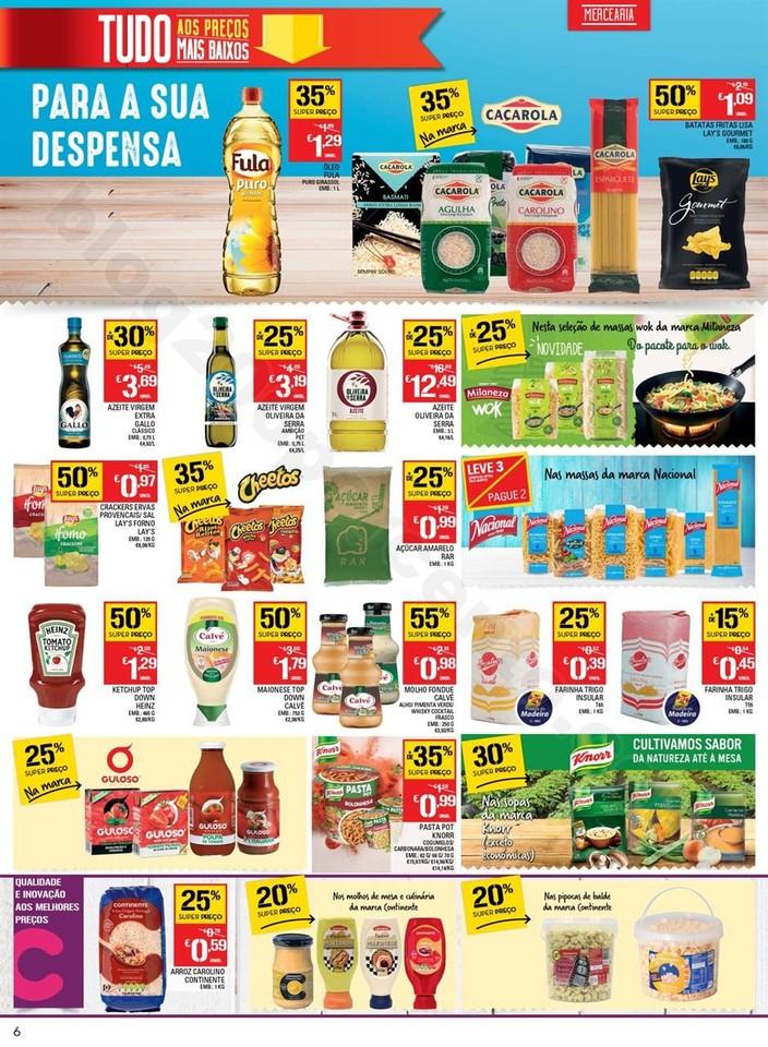 Antevisão Folheto CONTINENTE Madeira de 27 setemb