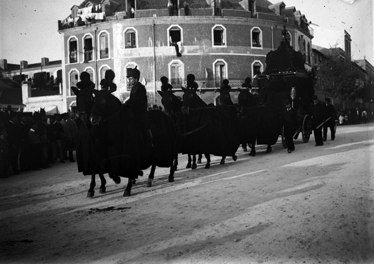Funeral de Maria Luísa de Sousa Holstein, 3ª duq