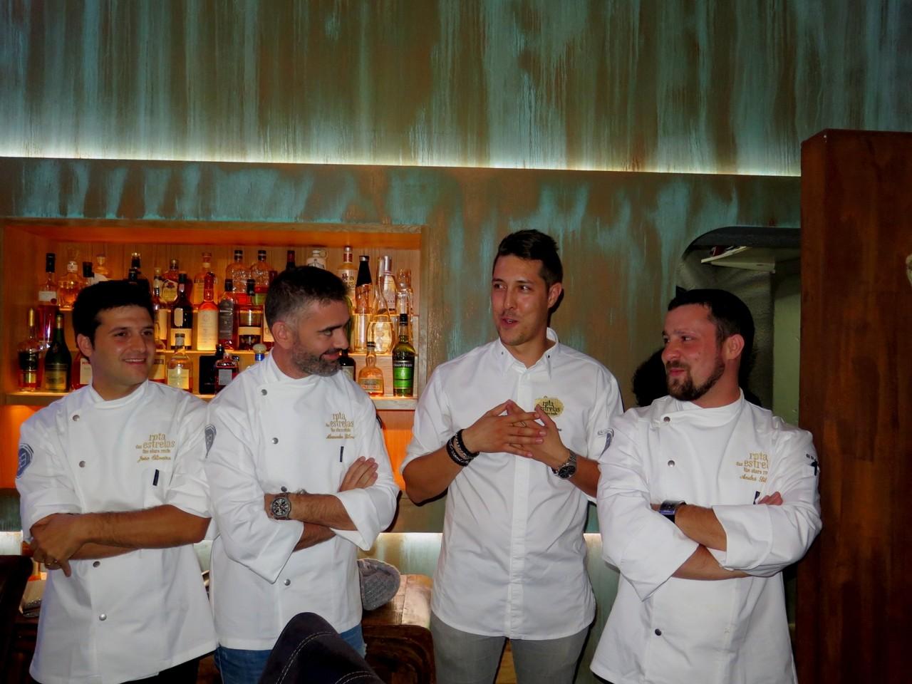 No final do dia 1, na sala: João Oliveira, Alexandre Silva, Rui Silvestre, André Silva