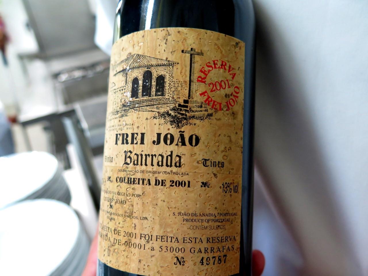 Frei João Reserva Tinto 2001