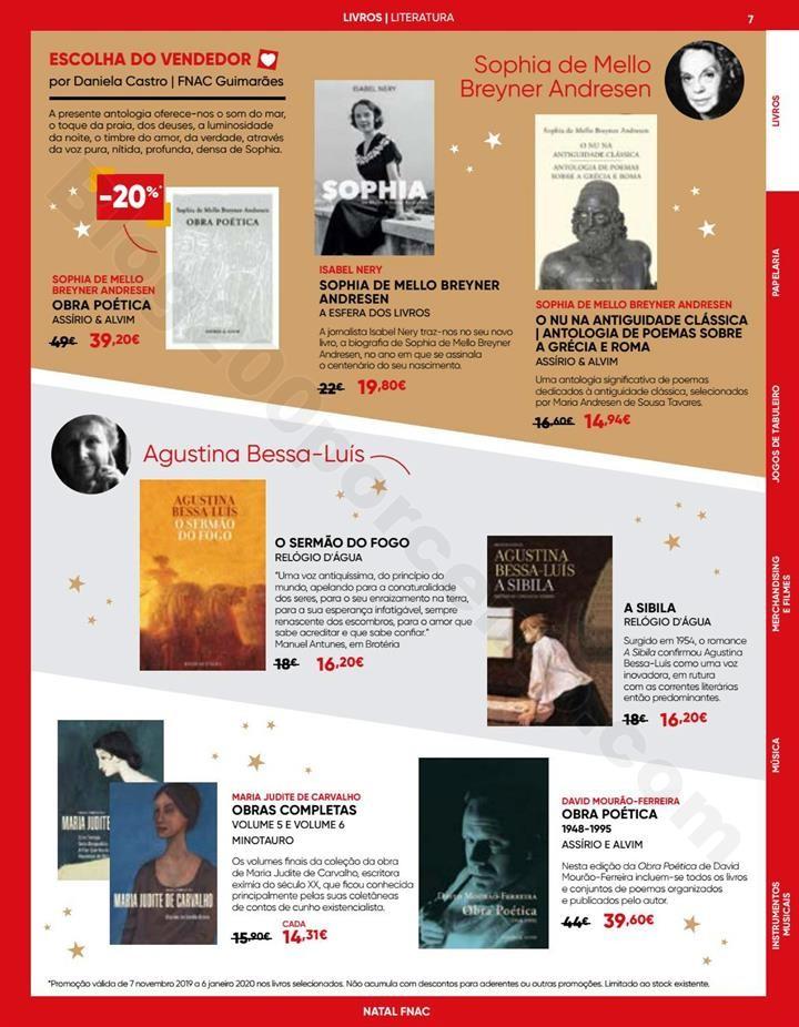 Antevisão Folheto FNAC Natal Promoções até 6 j