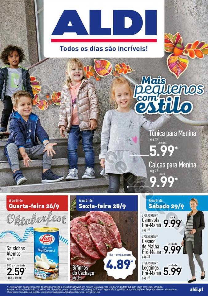 Antevisão Folheto ALDI Promoções a partir de 26