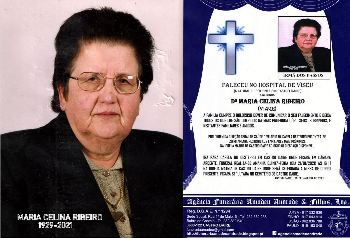 FOTO RIP DE MARIA CELINA RIBEIRO-91 ANOS (CASTRO D