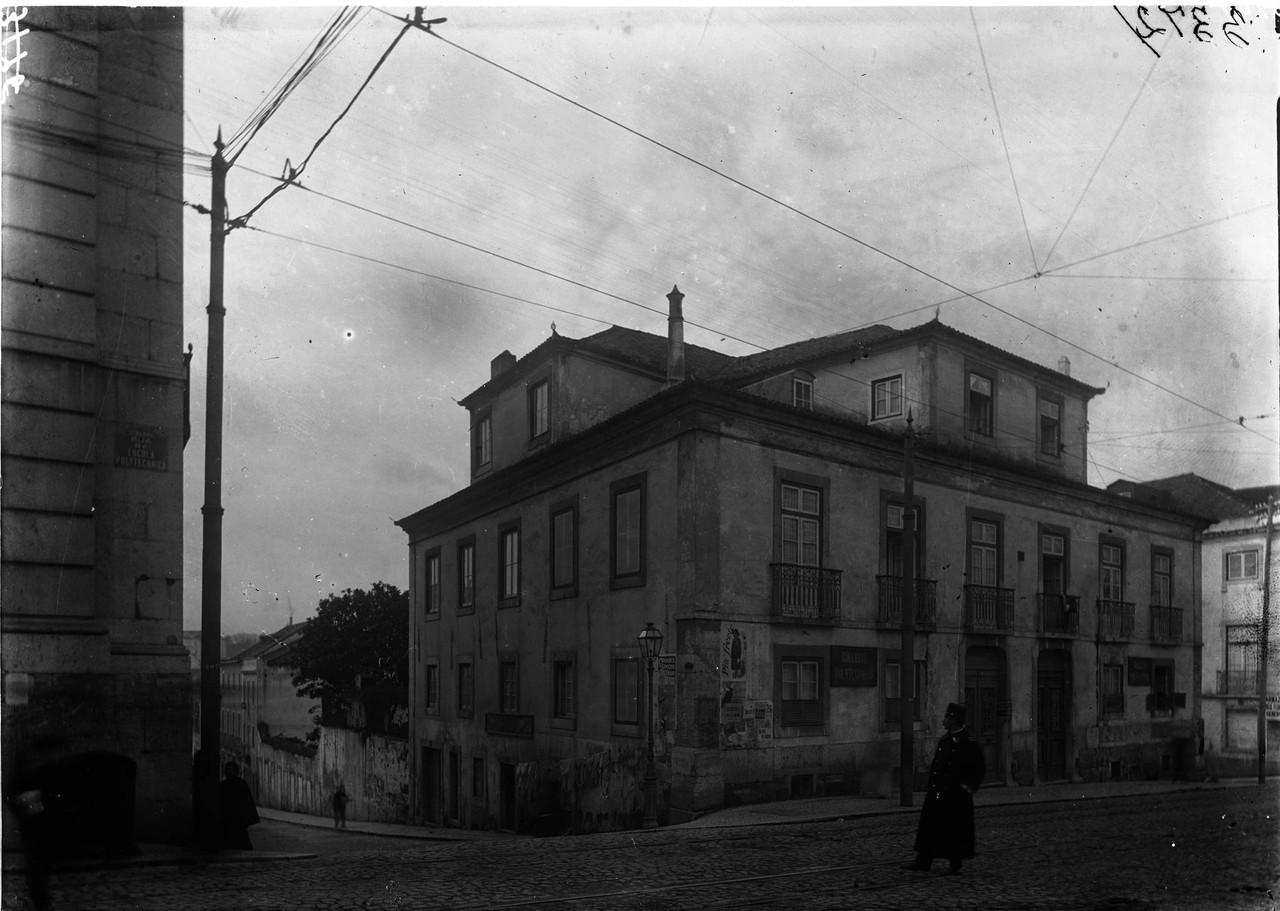 Rua do Arco, a São Mamede, sd, foto de Machado &