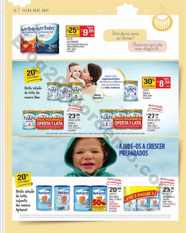 Feira Bebé CONTINENTE Promoções de 7 a 28 janei