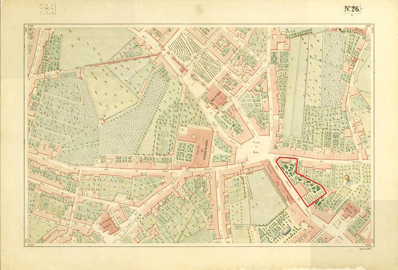 Atlas da carta topográfica de Lisboa, N.º 26, 18
