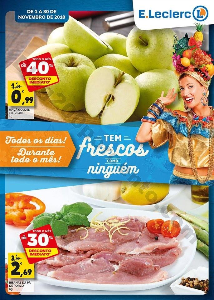 Folheto Frescos promoções de 1 a 30 de Novembro_
