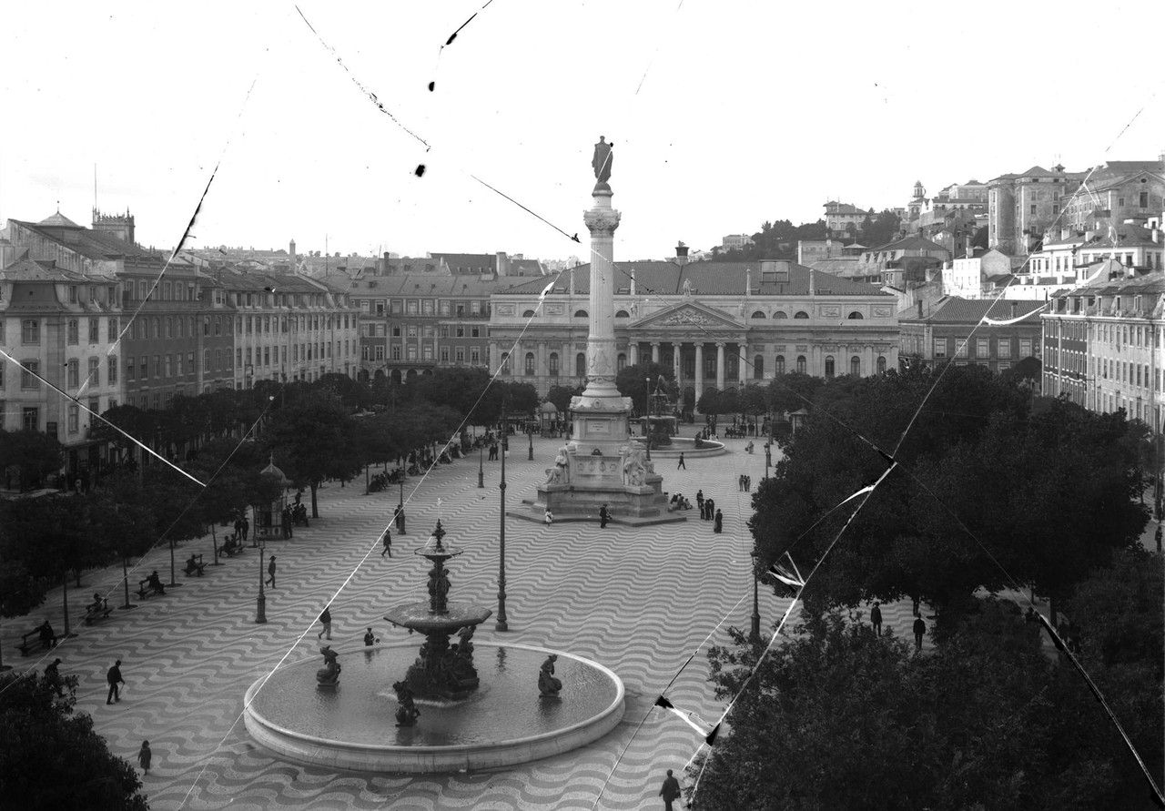 Praça Dom Pedro IV, anterior a 1925.jpg