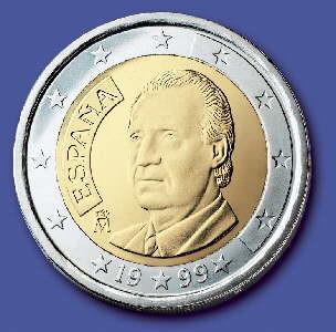 2€, Espanha