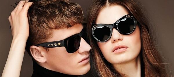 bf367e4b0 VERSACE Campanha óculos de sol Outono Inverno 2016 2017 - Blogar Moda