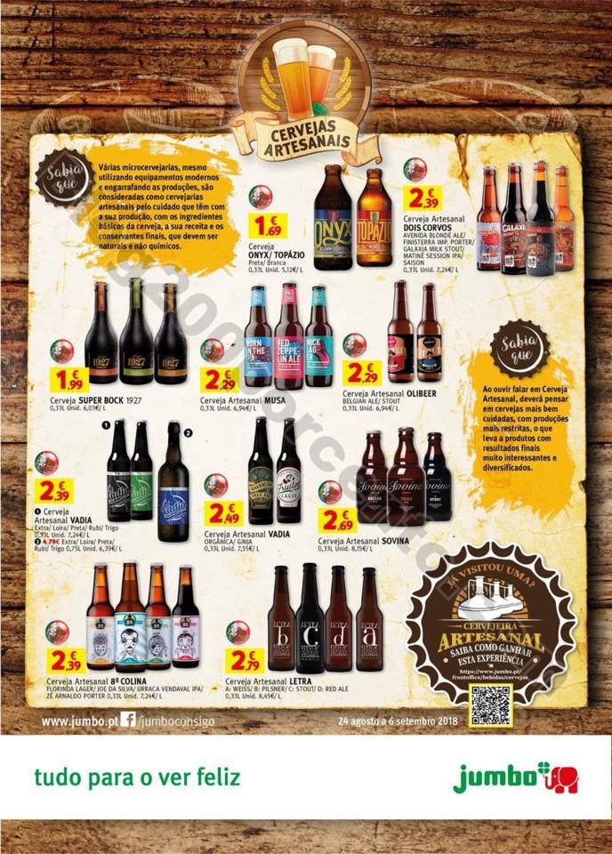 Antevisão Folheto JUMBO Especial cervejas promoç