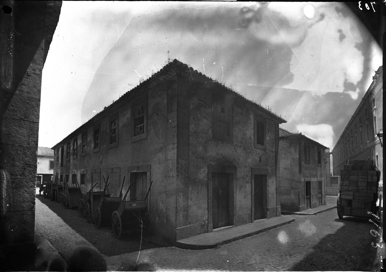 Terreirinho das Farinhas, 1901, foto de Machado &