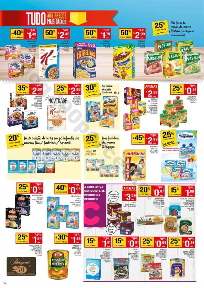 Folheto Promoções Continente Antevisão 9a15jan 2Parte