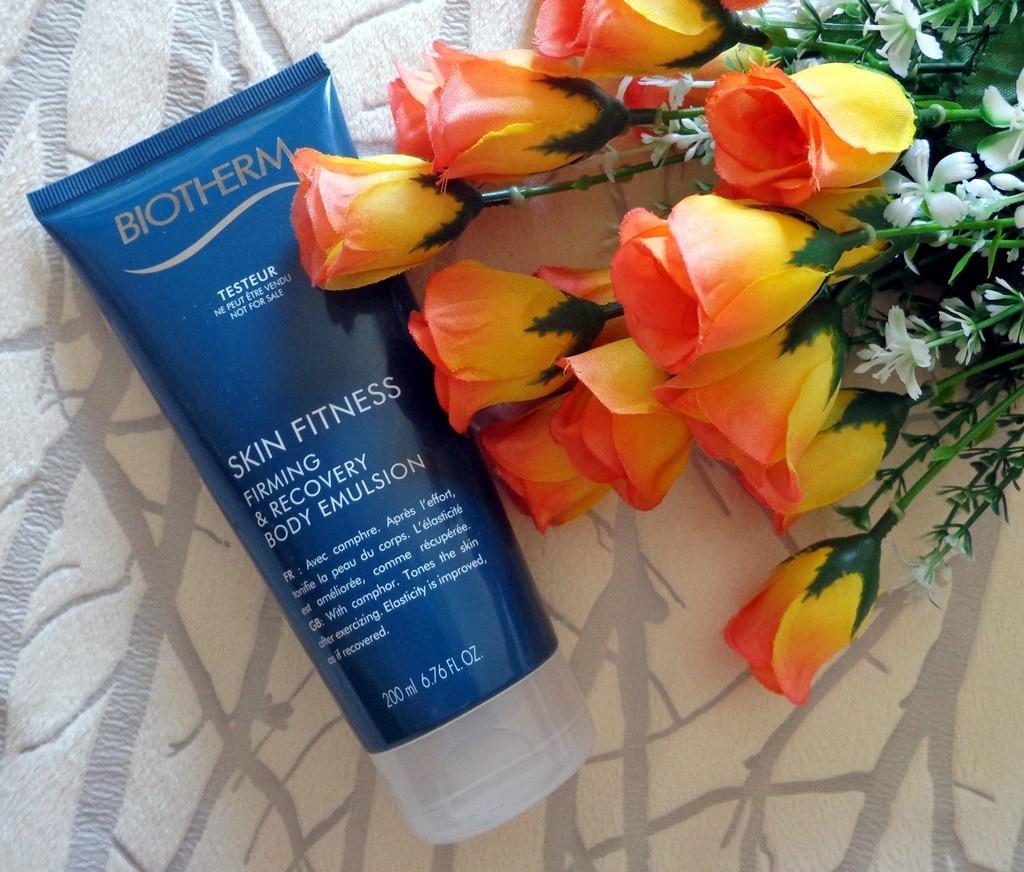 Skin Fitness Firming & Recovery Body Emulsion da Biotherm - Moda & Style