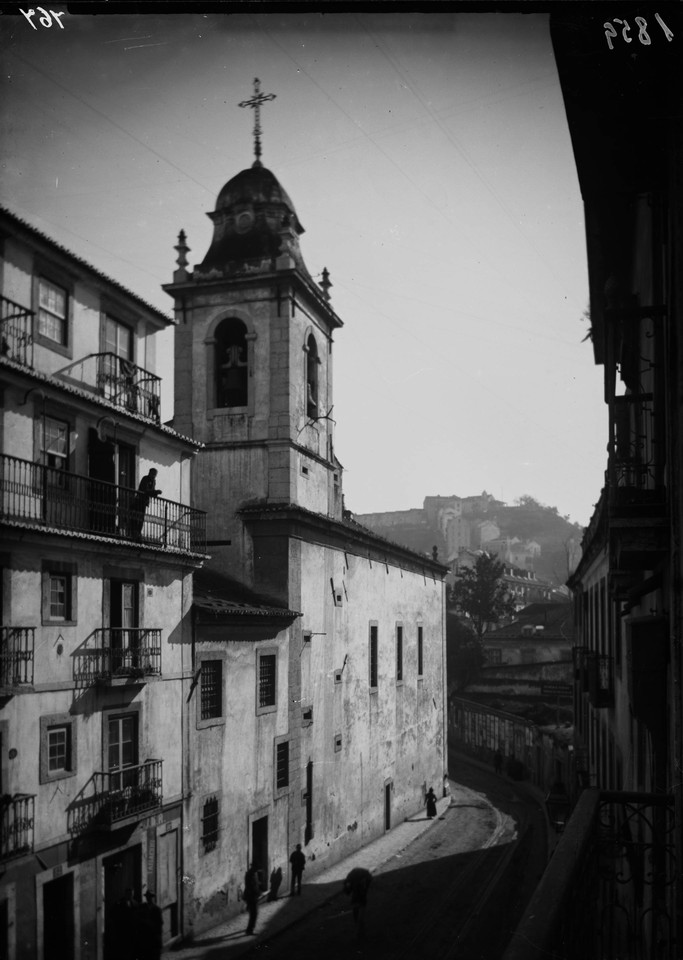 Antiga Igreja dos Anjos, 1901, foto de Machado & S