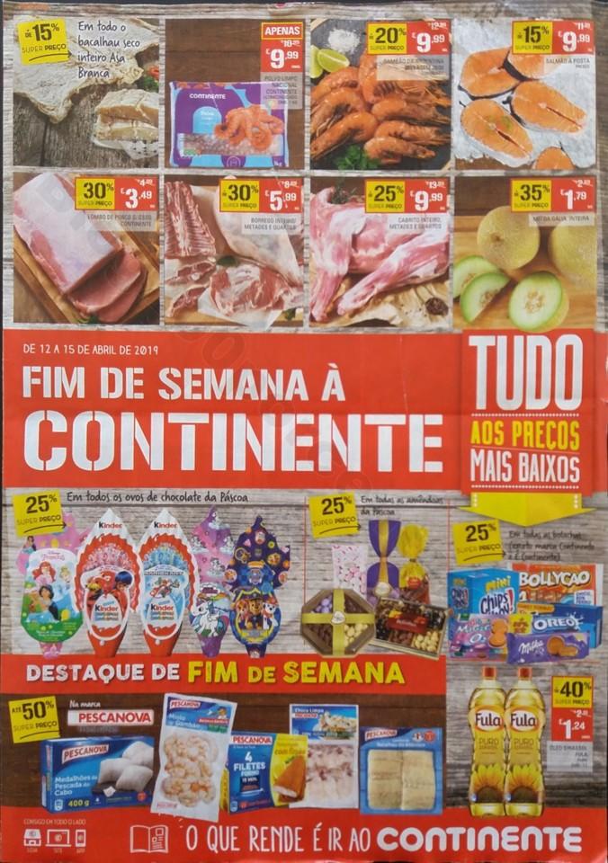 antevisao folheto 12 a 15 continente fim de semana