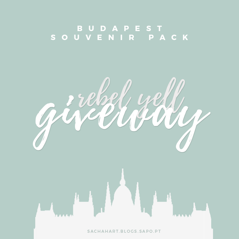 Rebel Yell Giveway // Budapest Souvenir Pack