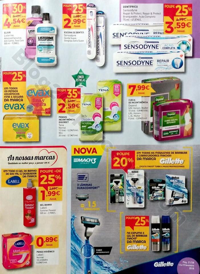 antevisão folheto promoções Intermarché 13a19fev 2ªparte