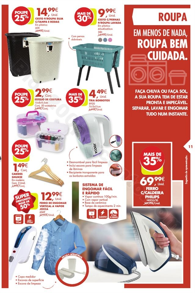 Antevisão Folheto PINGO DOCE Bazar Promoções de
