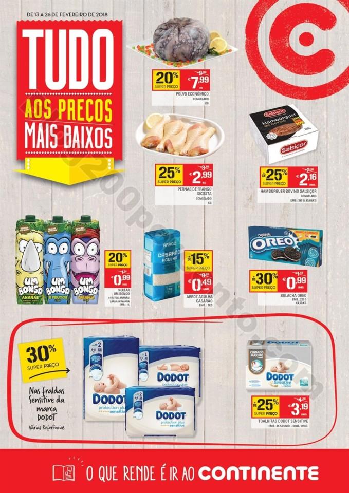 Novo Folheto CONTINENTE Açores Promoções até 2