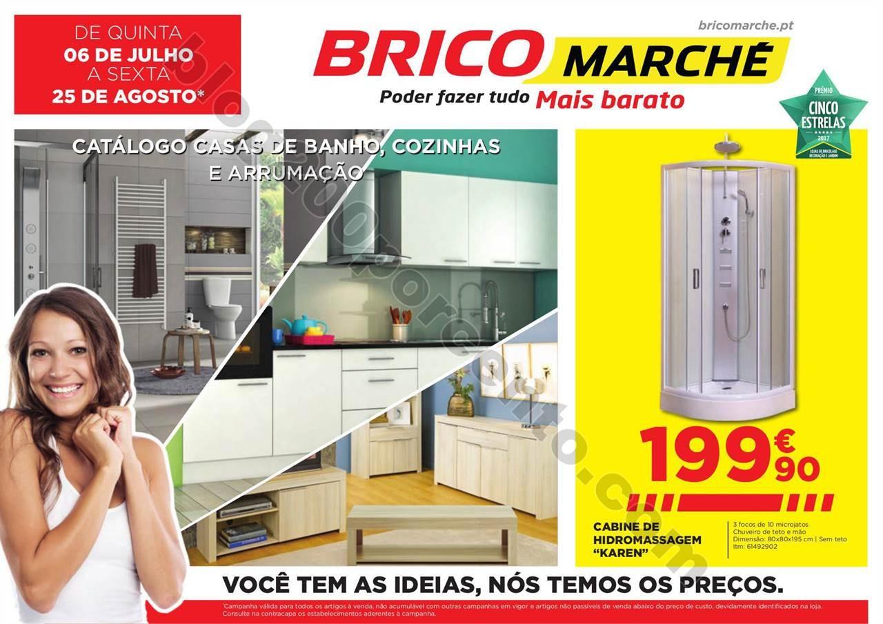 Antevisão Folheto BRICOMARCHÉ Promoções de 6 j