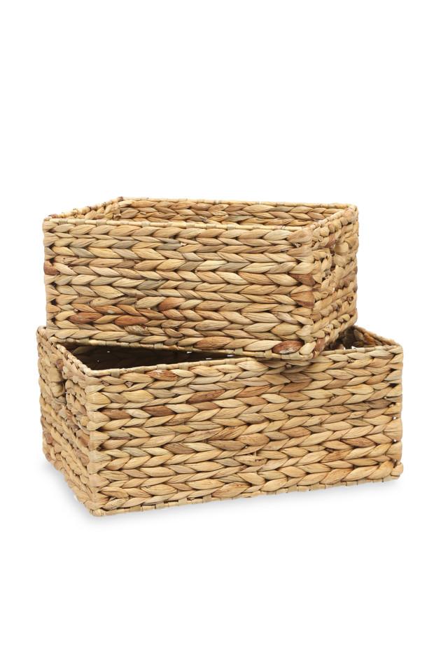 Kimball-5102801-2Pk Water Hyacinth Basket, ROI D,