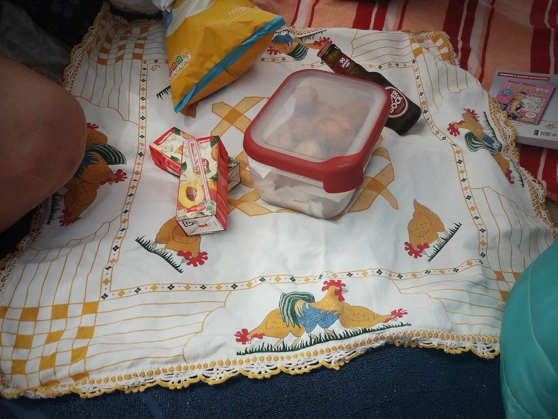 Piquenique de praia, coisa de mãe | Maria das Palavras