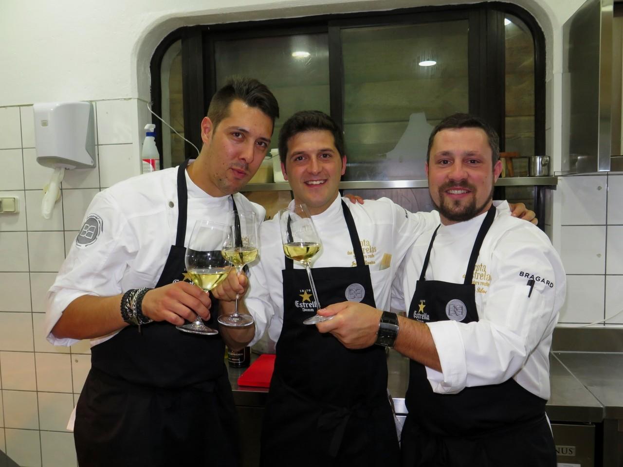 Rui Silvestre, João Oliveira, André Silva