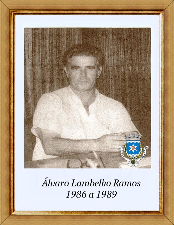 Álvaro Lambelho Ramos - 1986 a 1989 - - emblema.p