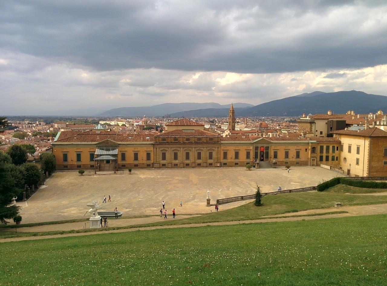 Palácio Pitti, em Florença