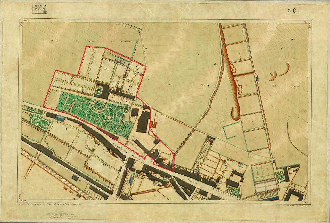 Planta Topográfica de Lisboa 2 C, 1909, de Albert