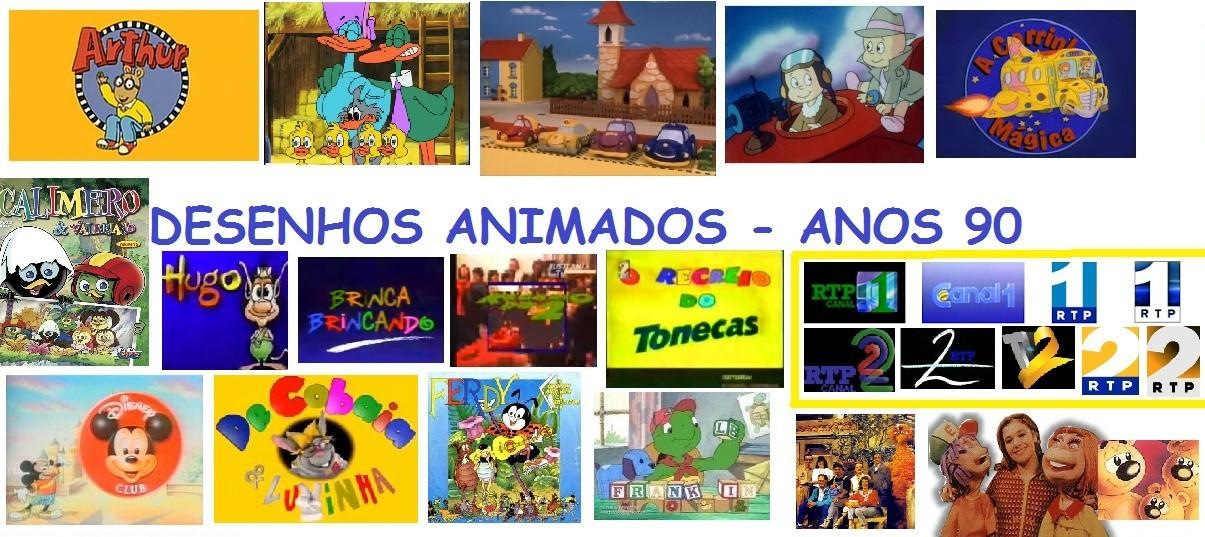 Lista Desenhos Animados Anos 90 Rtp Desenhos Animados Anos 90