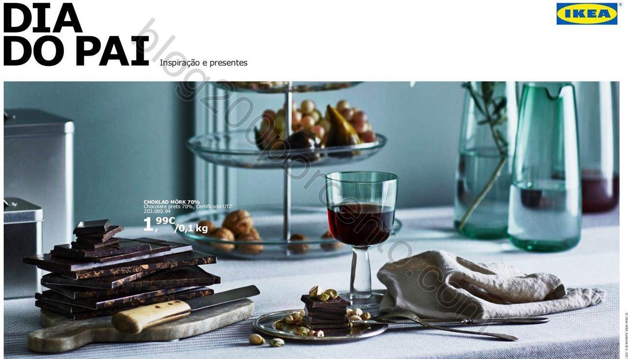 Novo Folheto IKEA Especial dia do Pai promoções