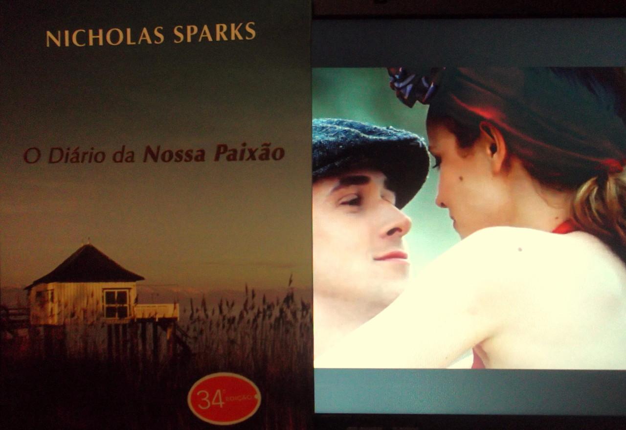 Livros No Ecrã O Diário Da Nossa Paixão De Nicholas Sparks