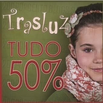50% de desconto | THE STYLE OUTLETS | Trasluz até 30 novembro