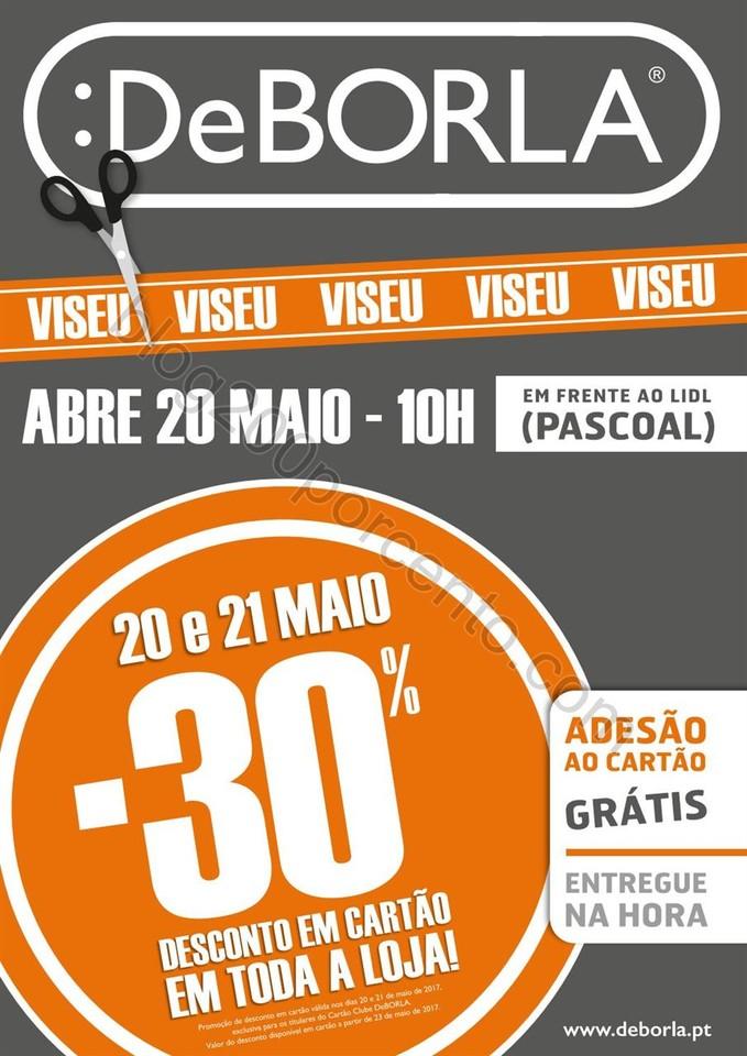 Antevisão Folheto DEBORLA Aberturas Viseu promoç