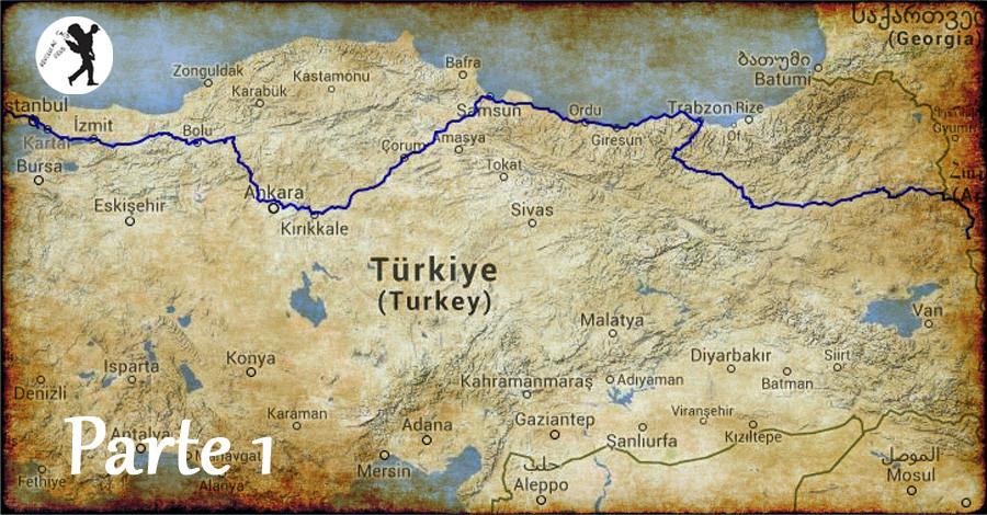 De Istambul a Doğubeyazıt em 3 dias - I